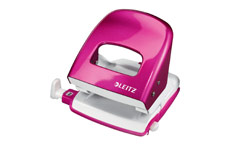 Leitz NeXXt WOW Hole Punch 3mm 30 Sheet Pink