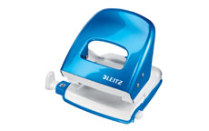Leitz NeXXt WOW Hole Punch 3mm 30 Sheet Blue