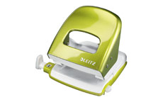 Leitz NeXXt WOW Hole Punch 3mm 30 Sheet Green