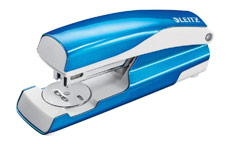 Leitz NeXXt WOW Stapler 3mm 30 Sheet Blue