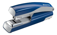Leitz NeXXt Stapler 4mm Flat Clinch Blue