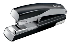 Leitz NeXXt Stapler 4mm Flat Clinch Black
