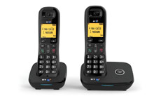 BT 1100 Dect Telephone Twin