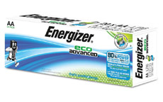 Energizer Eco Advance Batteries AA / E91