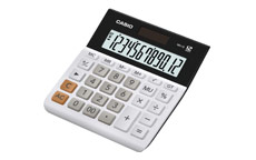 Casio Desktop Calculator 12 Digit Battery and Solar