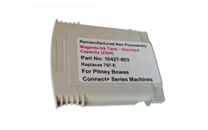 Totalpost Franking Inkjet Cartridge for Pitney Bowes ConnectPlus Series Magenta