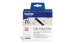 Brother DK-N55224 54mmx30.5m Continuous Non-Adhe Paper Lab Tape
