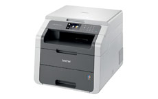 Brother DCP9015CDW Colour Laser Printer Copy Scan 9.3cm LCD 18ppm Duplex Wireless A4