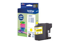 Brother LC221Y Inkjet Cartridge Yellow