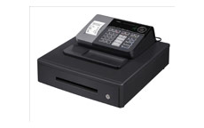 Casio Cash Register Antimicrobial 7 Segment 8 Digit 500 PLUs 20 Departments