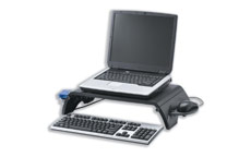 Monitor Stand for Laptop and TFT LCD 15-17 inch Collapsible Platform W380xD305