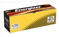 Energizer Industrial Battery Long Life LR20 1.5V D