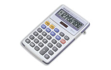 Sharp Calculator Tax Desktop Battery/Solar-power 10 Digit