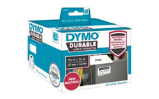 Dymo 1933084 LW Durable medium multi-purpose 57mm x 32mm Black on White