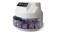 Safescan 1250 GBP Automatic Coin Counter and Sorter - New £1 Coin Ready