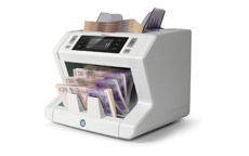 Safescan 2665-S Automatic Banknote Counter with Euro Value Counting