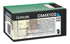 Lexmark Laser Toner Cartridge High Yield Page Life 4000pp Cyan