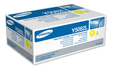 Samsung Laser Toner Cartridge High Yield Page Life 4000pp Yellow