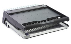GBC MultiBind 320 Manual Comb and Wire Binding Machine + 4 Hole Punch