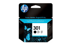 Hewlett Packard No. 301 Inkjet Cartridge Page Life 190pp Black