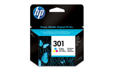 Hewlett Packard No. 301 Inkjet Cartridge Page Life 165pp Colour