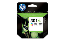 Hewlett Packard No. 301XL Inkjet Cartridge Page Life 330pp Colour