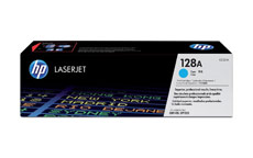 Hewlett Packard [HP] No. 128A Laser Toner Cartridge Page Life 1300pp Cyan