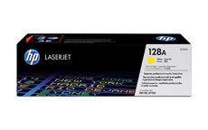 Hewlett Packard [HP] No. 128A Laser Toner Cartridge Page Life 1300pp Yellow
