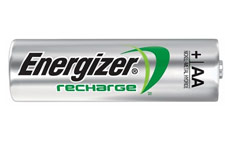 Energizer Battery Rechargeable Advanced NiMH Capacity 2300mAh LR06 1.2V AA
