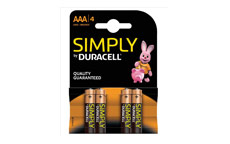 Duracell MN2400 Simply Battery AAA