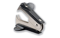 5 Star Staple Remover Black