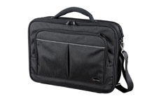 Lightpak Executive Laptop Bag Padded Multi-section Nylon Capacity 17in Black