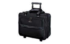 Lightpak Business Trolley Laptop Nylon Capacity 17in Black