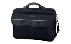 Lightpak Elite Large Laptop Case Nylon Capacity 17in Black