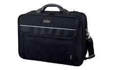 Lightpak Arco Laptop Bag Padded Nylon Capacity 17in Black