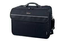 Lightpak Corniche Multifunction Nylon with Laptop Compartment Capacity 17in Black