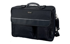 Lightpak The Flight Pilot Case Overnight Nylon 17in Laptop Compartment Black