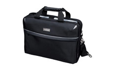 Lightpak Laptop Bag Top Load with 15in Laptop Compartment Nylon Black