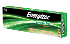 Energizer Battery Rechargeable NiMH Capacity 2000mAh HR6 1.2V AA