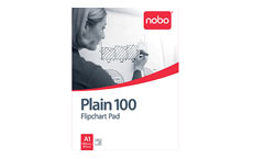 Nobo 34633681 100 Page A1 Flipchart Pad - Pack of 2
