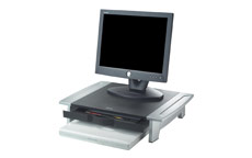 Fellowes Office Suites Monitor Riser Small Height-adjustable Capacity 36kg
