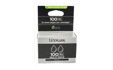 Lexmark No. 100XL Inkjet Cartridge Page Life 1020pp Black