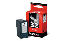 Lexmark No. 32 Inkjet Cartridge Page Life 200pp Black