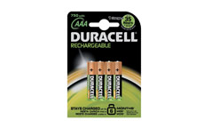 Duracell Battery Rechargeable Accu NiMH 750mAh AAA