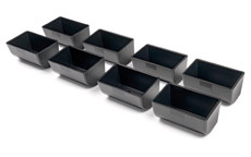 Safescan 4141CC Coin cups for Safescan 4141 cash drawer, Set of 8