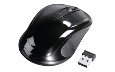 Hama AM-7300 Mouse Three-Button Scrolling Wireless 2.4GHz Optical 1000dpi Range 8m