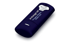 Integral Crypto Dual Flash Drive USB 2.0 FIPS 197 256-bit Encryption 4GB