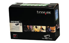 Lexmark Laser Toner Cartridge Return Program High Yield Page Life 21000pp Black