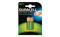 Duracell Battery Rechargeable Accu NiMH 170mAh 9V