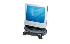 Fellowes Monitor Riser for TFT LCD 76-114mm Capacity 17inch/14kg W426xD289xH121mm Grey Charcoal